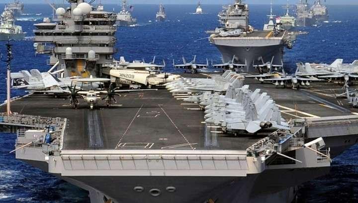 Военно-морские силы США подверглись