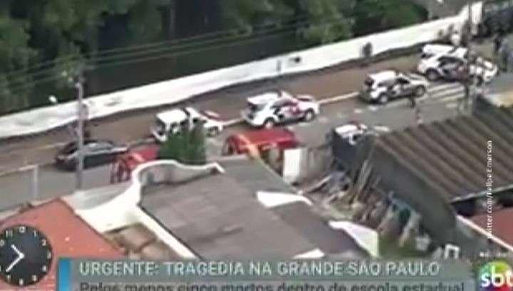 В Бразилии в школе Сан-Паулу подростки расстреляли шесть человек