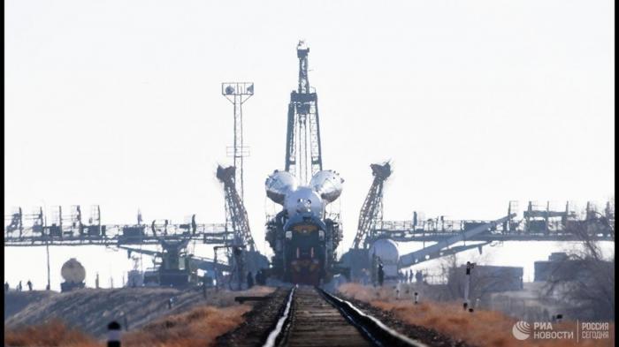 Старт космического корабля «Союз МС-12» к МКС. Прямая трансляция