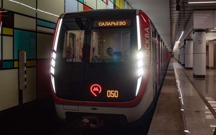 На Сокольнической линии метро появилась «Москва»