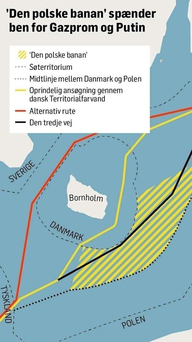 На пути «Северного потока» Польша устроит баррикаду