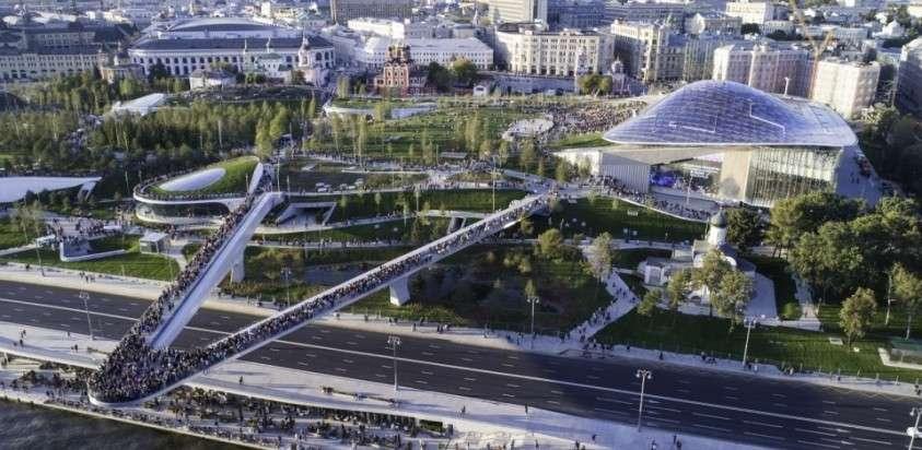 Главный приз: Москва и парк