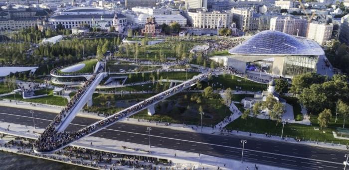 Москва и парк «Зарядье» получили главный приз на международном конкурсе MIPIM Awards в Каннах