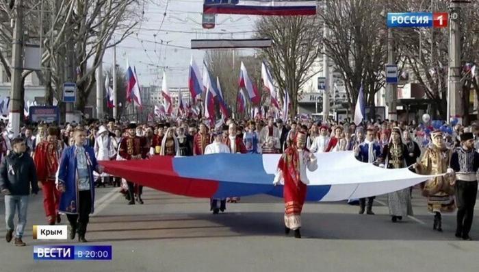 Крым отмечает пятую годовщину воссоединения с Россией
