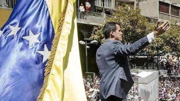 Лидер венесуэльской оппозиции Хуан Гуаидо. Архивное фото