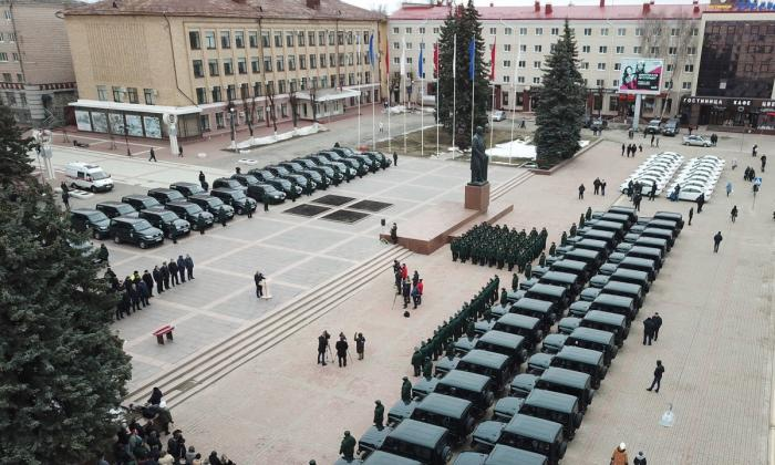 Лесничества Брянска получили 96 отечественных автомобилей