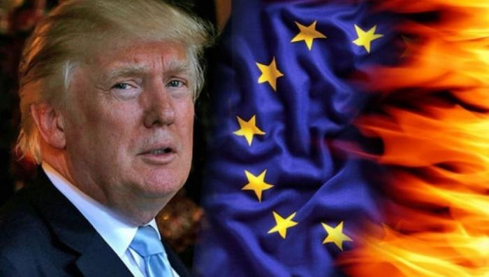 Дональд Трамп истерит, как принцесса на бобах, видя крушение американской гегемонии