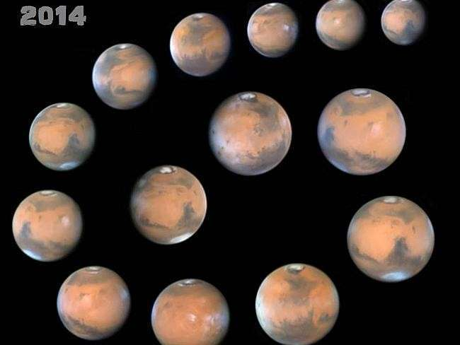 Martian faces ... The 2014 Central West Astronomical Society AstroFest, David Malin Photo