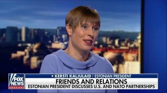 Президент Эстонии Керсти Кальюлайд: мы верим, что США останется нашим союзником и «равным партнёром»