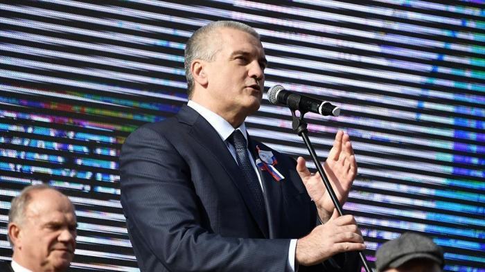Аксенов отметил важность для Крыма позиции Китая по санкциям