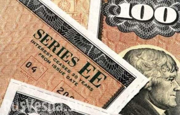 Крах Доллара. Россия продолжила «сливать» госдолг США | Русская весна