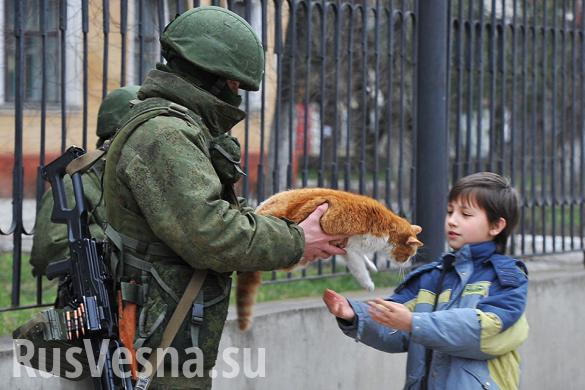 Под грифом «Секретно»: знакомство с «вежливыми людьми» в марте 2014 (ФОТО)   Русская весна