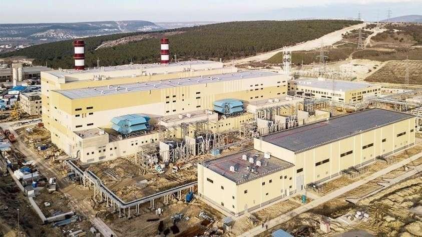 Владимир Владимир Путин дал старт работе Балаклавской и Таврической ТЭС в Крыму
