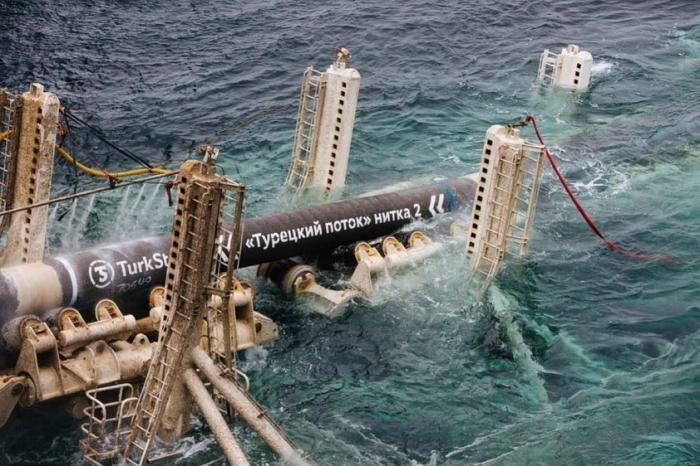«Газпром» соединил морскую и наземную части газопровода «Турецкий поток»