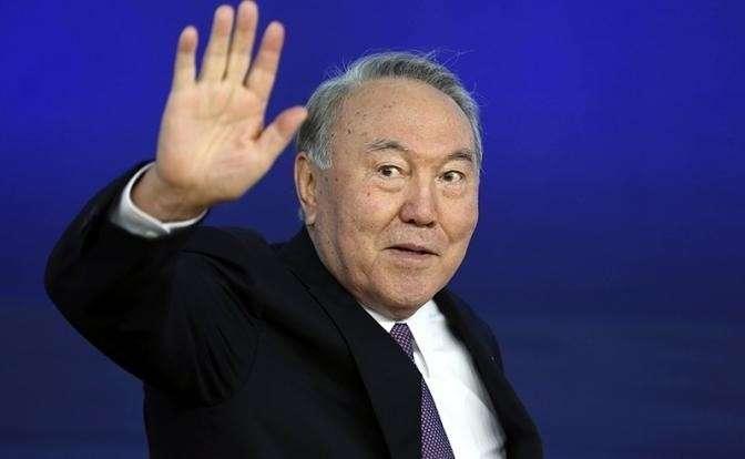 На фото: президент Казахстана Нурсултан Назарбаев