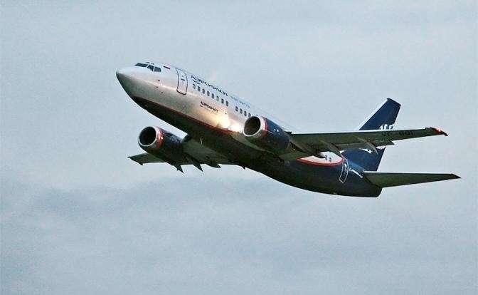На фото: «Боинг» модели 737