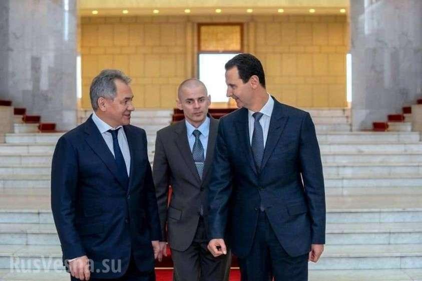 Шойгу привёз Асаду послание от Путина