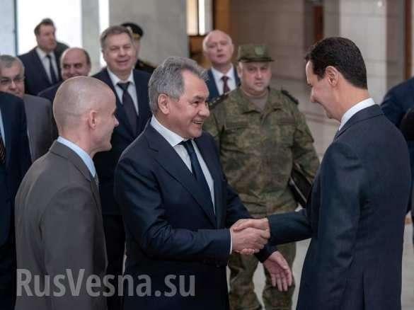 Шойгу привёз Асаду послание от Путина (ФОТО, ВИДЕО) | Русская весна