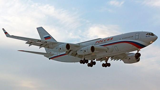 В Москве представлен облик салона новейшего российского лайнера Ил-96-400М