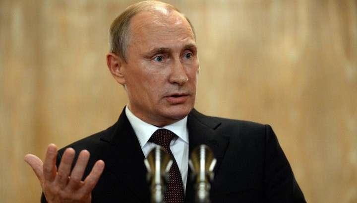 Владимир Путин: Европа должна подставить Украине плечо в газовом вопросе