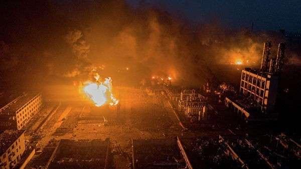 Взрыв на заводе в Китае. В больницы доставили около 640 пострадавших