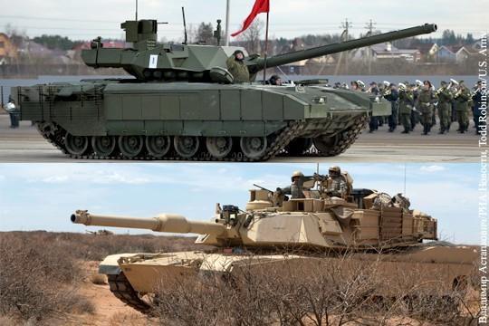 Танк Абрамс будут модернизировать благодаря успеху России в Сирии