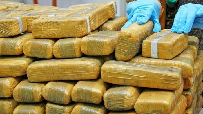 В московском гараже полиция обнаружили наркотики на 34 миллиона рублей