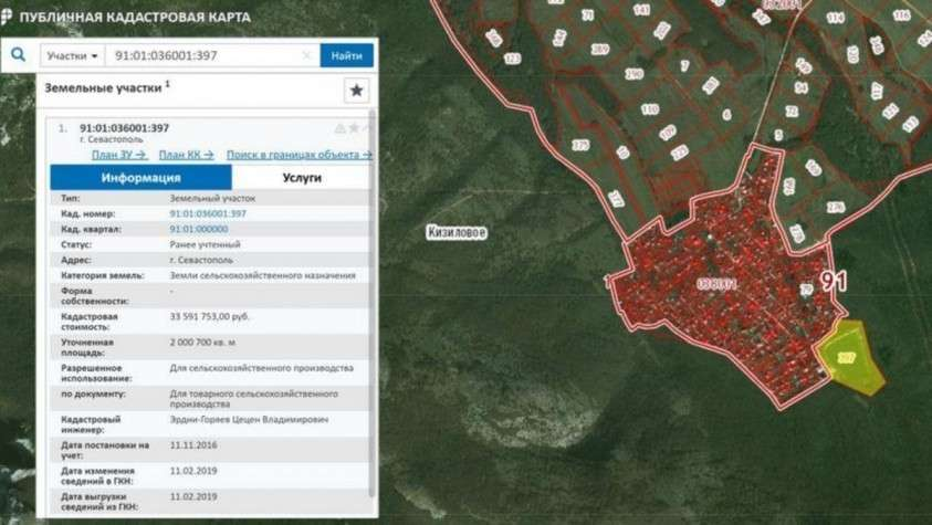 Реки и озёра Севастополя готовят к продаже с молотка