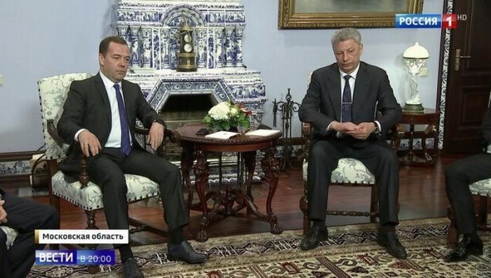 Виктор Медведчук и Юрий Бойко приехали в Москву обсудить «украинский газовый вопрос»