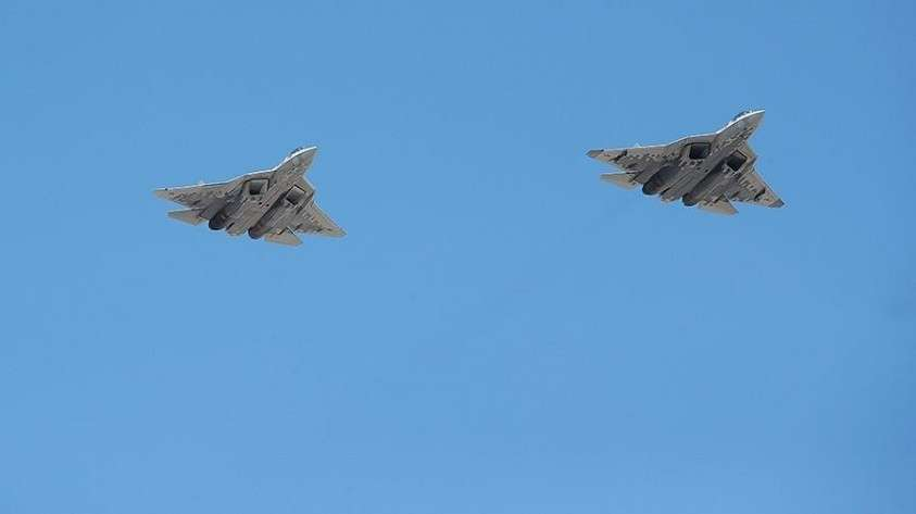 В США назвали Су-57 смертельным противником для F-22