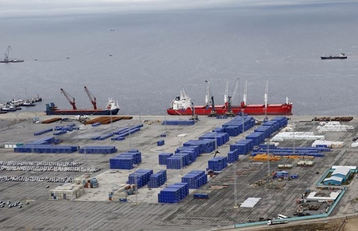 Строительство многопрофильного глубоководного портового комплекса в Ленобласти