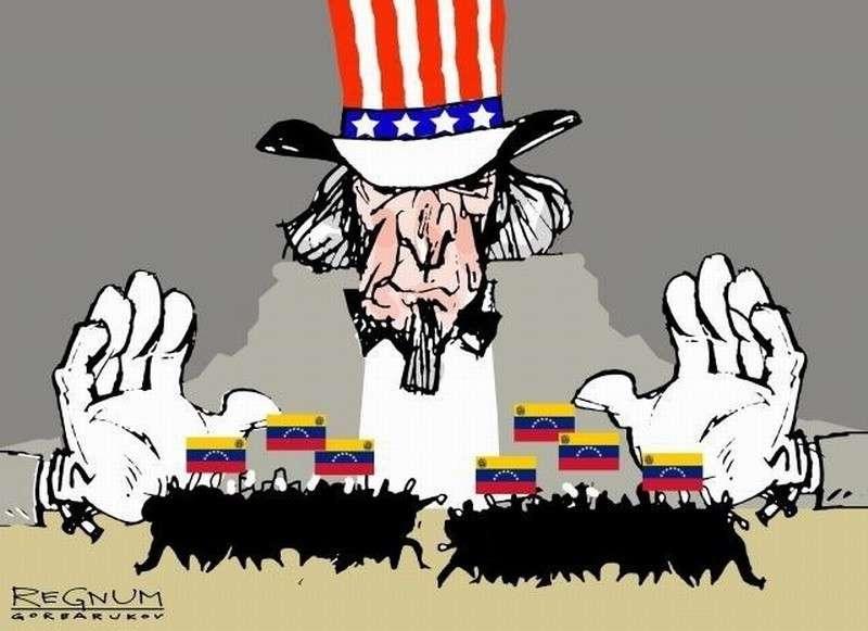 США воруют венесуэльские деньги в иностранных банках, прикрываясь марионеткой Гуайдо
