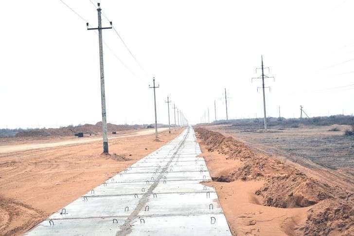 В Астраханской области завершен первый этап создания инфраструктуры ОЭЗ «Лотос»