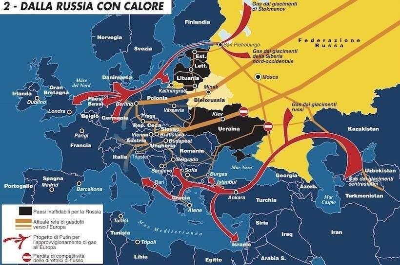 Как в Европу пойдут газовые потоки «Газпрома». Выбор сделан