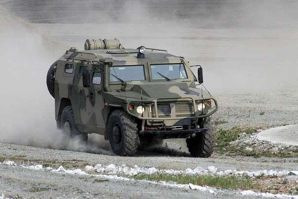 Новосибирские спецназовцы получили бронеавтомобили «Тигр-М»