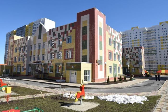 В Курске открыт новый детский сад в рамках национального проекта «Демография»