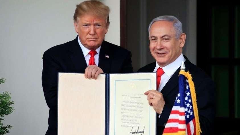 Нетаньяху и Трамп: сговор двух бандитов, которые нагло плюют в лицо всему миру