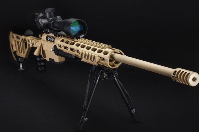 Спецназ Росгвардии получил новые снайперские винтовки
