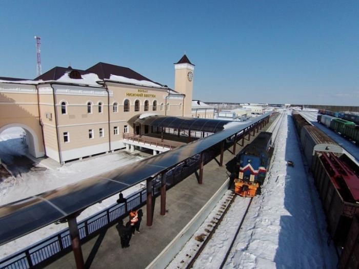 Якутия, Нижний Бестях. Крупнейший железнодорожный узел на Северо-Востоке России