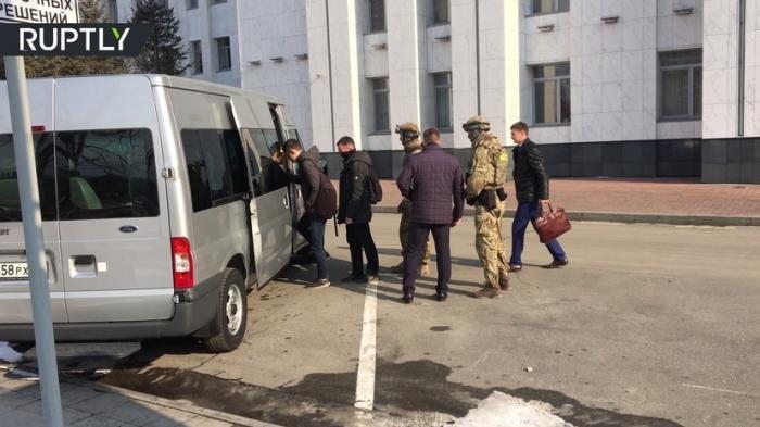 В правительстве Хабаровского края прошли обыски