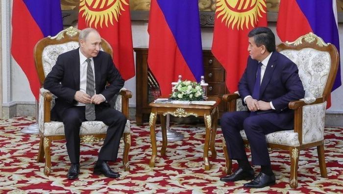 По итогам переговоров Путина и Жээнбекова Россия и Киргизия подписали соглашения на 12 млрд долларов
