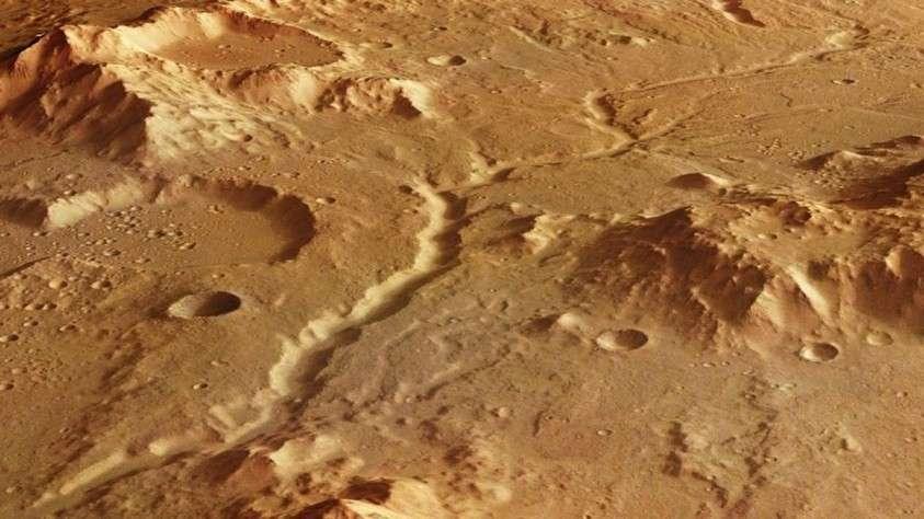 В прошлом на Марсе влаги было больше, чем сейчас на Земле