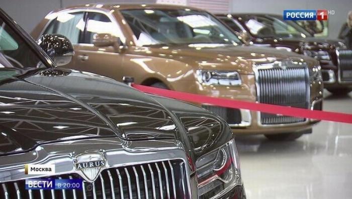 Производитель «Ауруса» НАМИ приоткрыл тайны президентского лимузина