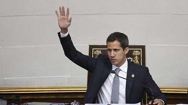 Глава Национального собрания Венесуэлы и лидер оппозиции Хуан Гуаидо