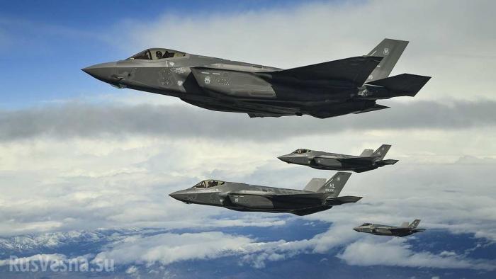 Истребители F-35 непригодны для войны