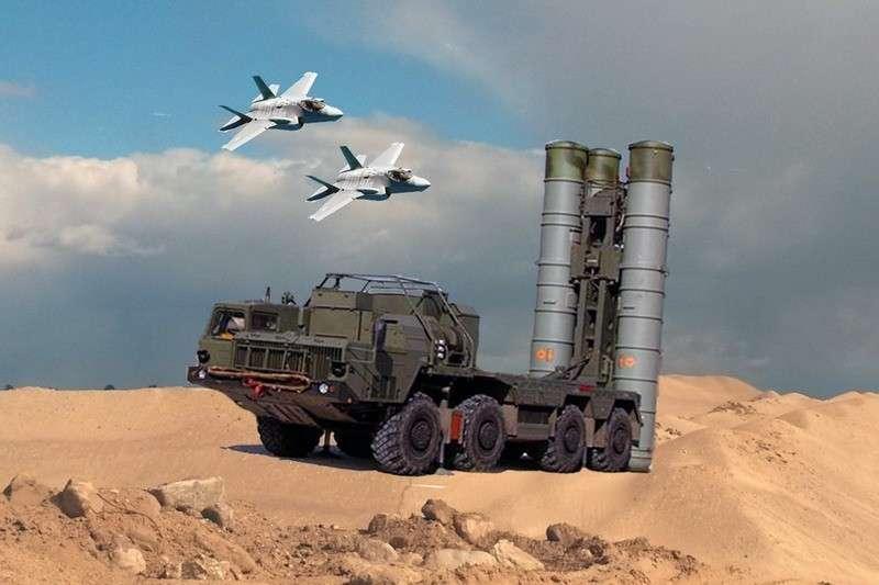 Американцы боятся подставлять свой F-35 под реальное испытание С-400