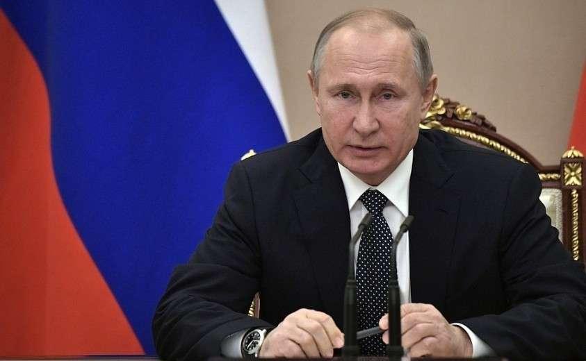 Владимир Путин провёл совещание с постоянными членами Совета Безопасности 29.03.2019