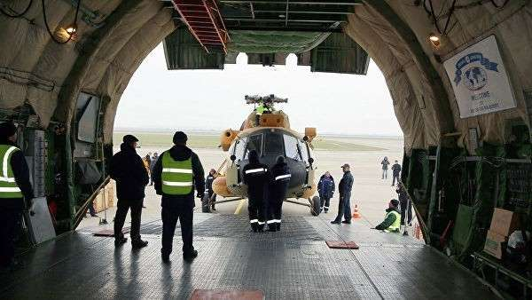 Россия открыла в Венесуэле учебно-тренировочный вертолетный центр