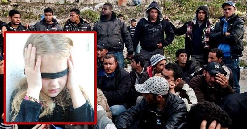 Италия. 30 мигрантов зверски насиловали женщину с дочкой