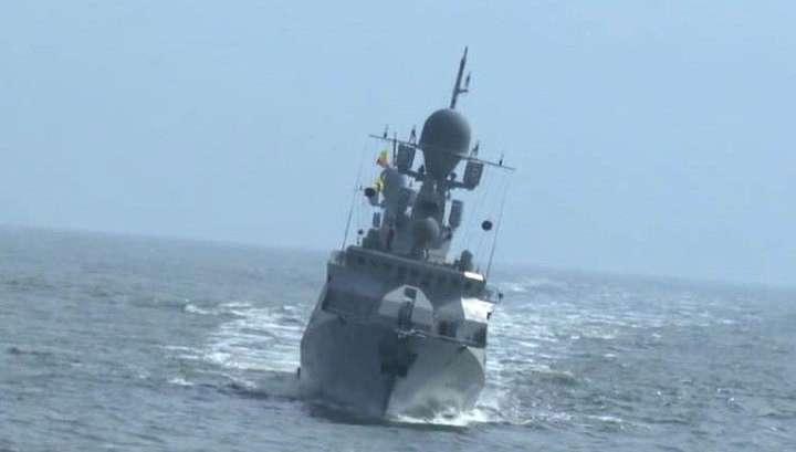 На Каспии завершаются испытания ракетного корабля «Великий Устюг»